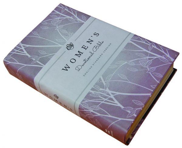 ESV Women Devotional Hard Cover Purple ISBN 9781433545221 – KES. 2,100