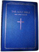 King James Version 052 Blue Pearl Vinyl Silver Edge ISBN 97889412902247