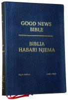Swahili English Diglot Bible Black