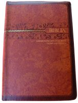 Swahili Study Bible CL 065PTI Brown Gold Edge ISBN 9789966276612