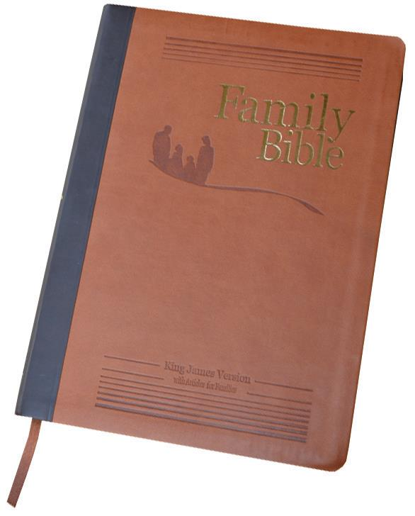 family Bible brown